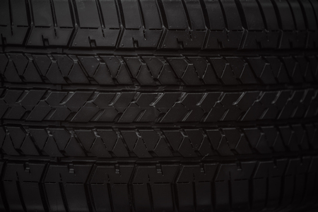 tire face closeup rubber tyre texture vintage tone
