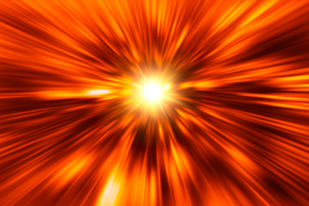 blur red hot fire power abstract for background