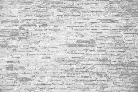 old ruin white brick wall background Reklamní fotografie