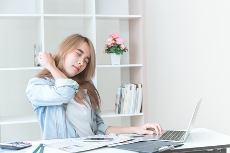 Neck Pain in Asian women office syndrome