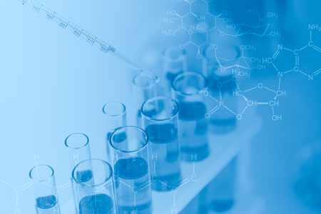 Chemical medical research lab for background wallpaper