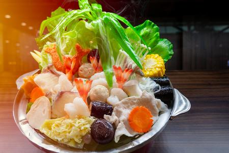 Suki Hotpot Shabu realistic fake food decoration