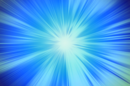 blue blur power zooming effect illustration abstract for background