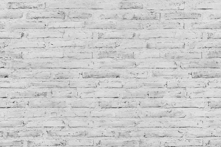 white brick block wall texture pattern for background Stock Photo