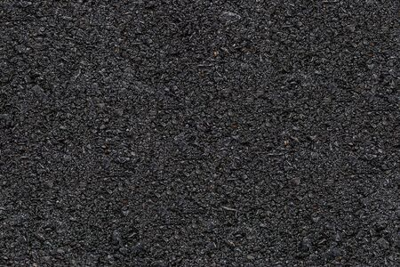 Asphalt Clean New Black road seamless texture pattern for background.