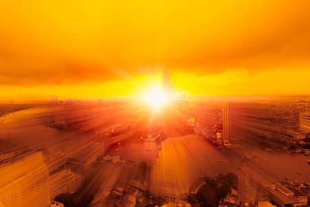 city explosion bomb leaves building devastated graphics simulation conceptual design
