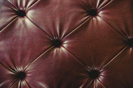 Genuine leather from luxury sofa texture pattern background