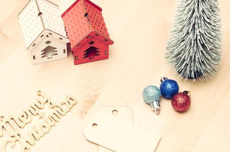 Christmas decoration: vintage concept