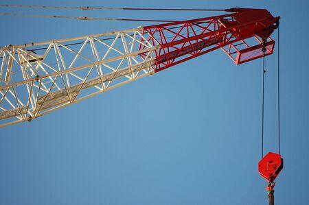constrution: crane Stock Photo