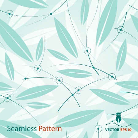 Vector seamless floral pattern  Background for sample