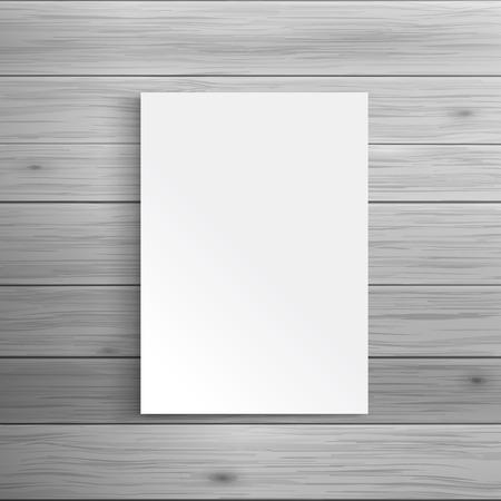 広告や企業のアイデンティティのためのテンプレートです。空折パンフレットやリーフレット。空白のモックアップ デザイン。白いベクトル オブジ