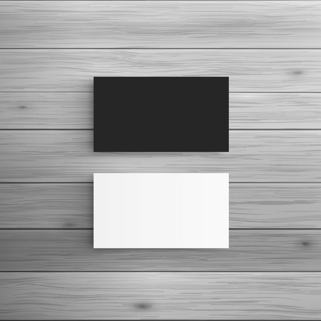 Template for advertising and corporate identity. Business Cards. Blank mockup for design. Vector white object