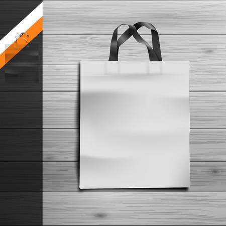 広告や企業のアイデンティティのためのテンプレートです。パケット。空白のモックアップ デザイン。白いベクトル オブジェクト