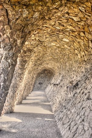 A Self Suspending Arch