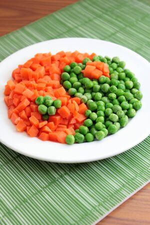 Frozen vegetables photo