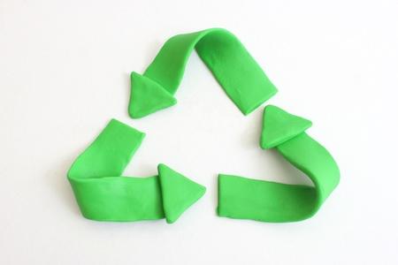 logo reciclaje: Logotipo de reciclaje  Foto de archivo