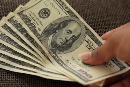 Dollars Count   Stock Photo - 13143785