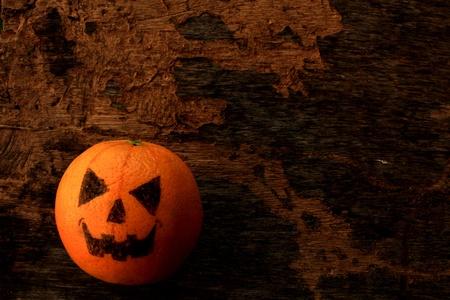 Devil Orange on Halloween