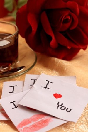 I love you and rose photo