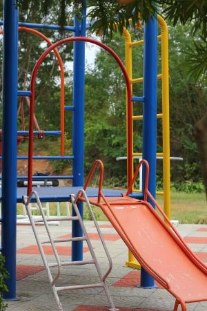 Playground in garden Stock Photo - 14988816