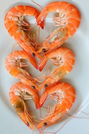 Heart shrimp