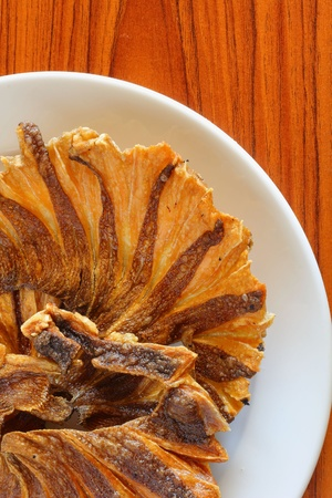 skat: Dried fish