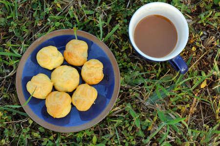 choux: Choux pasteles y caf�