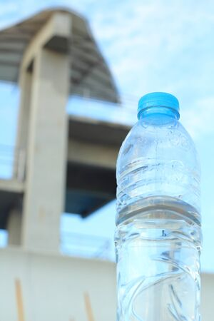 Drink water and springboard photo