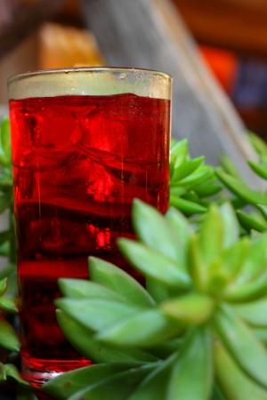 Red beverage Stock Photo - 16670462