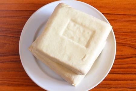 leche de soya: Tofu