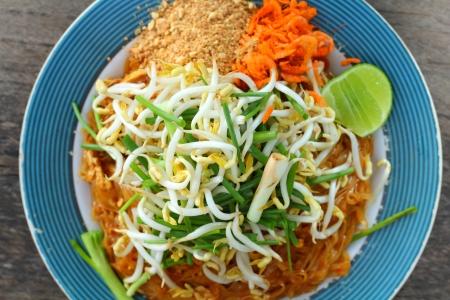 Noodles fried and shrimp - Pad thai Stock Photo - 16983991