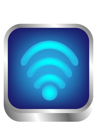 Wireless Symbol - wi-fi network  Stock Vector - 18107841