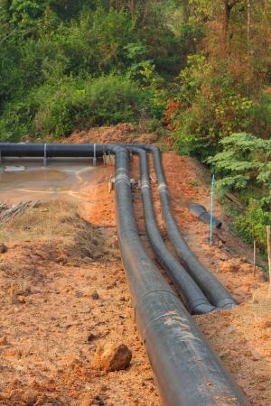 Concrete drainage tank