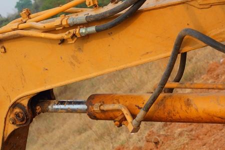 Excavator - dig the ground Stock Photo - 19161561