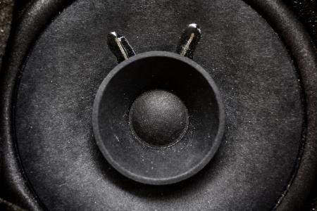 Close-up of subwoofer black speaker Stock Photo - 22619085