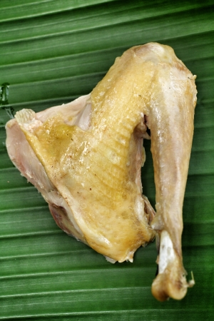boiled chicken prepared in chinese cuisine photo