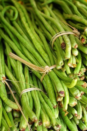 long bean in the market Stock Photo - 22748122