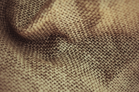 Brown sackcloth texture background Stock Photo - 23392716