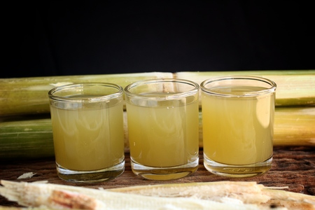 treacle: Drinks from sugar cane. Stock Photo
