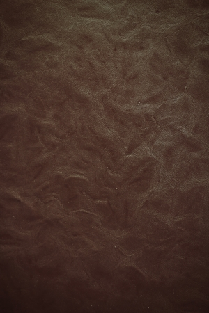 Close-up texture of vintage brown leather sofa photo