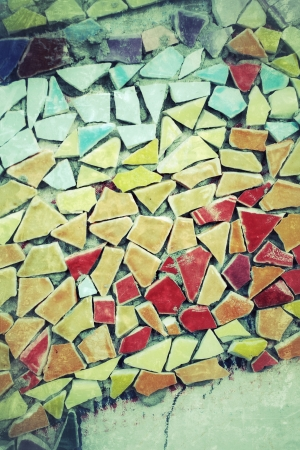 tile mosaics background texture Stock Photo - 24405546