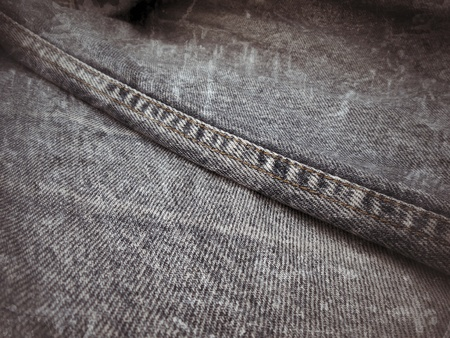 vintage jeans with seams background texture