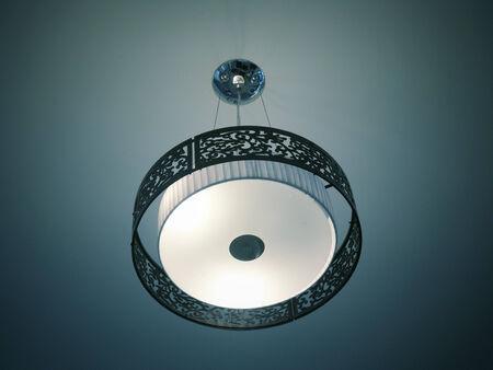 Hanging lamp vintage Stock Photo - 27806708