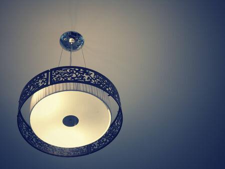Hanging lamp vintage Stock Photo - 27808489
