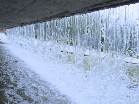 sewage treatment plant: Wastewater
