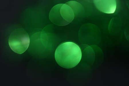 Blurred green light Stock Photo