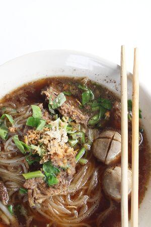 noodles soup photo
