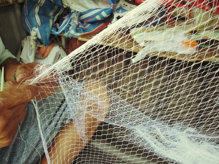 pesquero: Textil Mallas para asia pesca