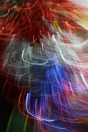 trailing: blurred light trails Stock Photo