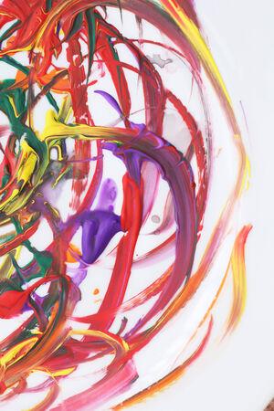 colorful paint: Colorful paint